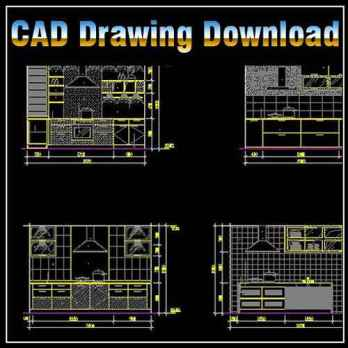 Kitchen Design Archives Free Cad Download World Download Cad Drawings