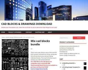 Mix cad blocks bundle-AutoCAD Blocks | AutoCAD Symbols | CAD Drawings | Architecture Details│Landscape Details