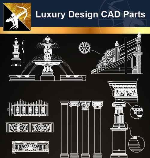 A05 Luxury Design CAD Blocks 3